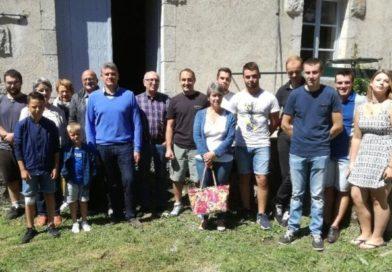 Visite de notre député Jean-Pierre Vigier et des acteurs locaux