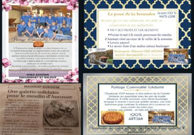 Premier partenariat: Chez Antonin, Boulangerie – pâtisserie LE MARCET – PAULHAGUET
