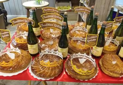 L'épiphanie 2019 en partenariat avec la boulangerie pâtisserie Chez Antonin, le Marcet – Paulhaguet.
